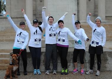 PAWS Marathon Team