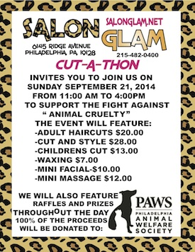 Salon Glam charity event